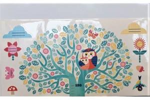 Drzewo i przyjaciele pierwsza miara na ścianę Djeco 4038