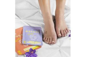 Zestaw pielęgnacyjny do stóp w domu skarpety peeling + maska Peggy Sage 550371/3
